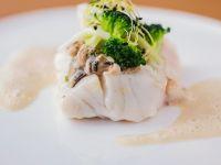 Fisch mit Austern Rezept