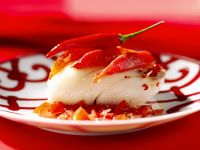 Fisch mit Chili-Tomaten Rezept