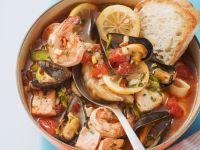 Fisch-Muschel-Eintopf Rezept
