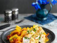 Fisch-Paprika-Tajine mit Zitrone Rezept