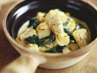 Fisch-Spinat-Topf mit Safran Rezept