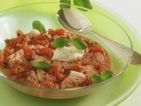 Fisch-Tomatenragout
