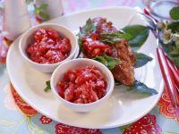 Fisch vom Grill mit Erdbeerdip Rezept