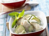 Fisch-Zucchini-Curry Rezept