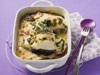Fischauflauf mit Gemüse Rezept