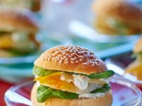 Fischburger mit Spinat Rezept