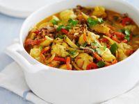 Fischcurry mit Seeteufelfilet Rezept