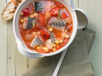 Fischeintopf mit Kichererbsen Rezept