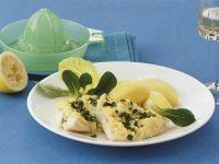 Fischfilet mit Selleriecreme überbacken Rezept