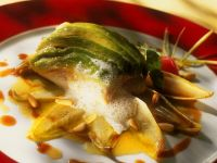 Fischfilets mit Chicoree und Avocado Rezept