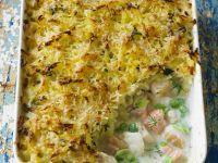 Fischgratin mit Kartoffelhaube Rezept
