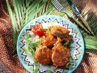 Fischkoteletts in Tomatensauce