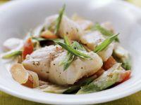 Fischpfanne mit Gemüse Rezept