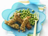Fischsticks mit Erbsen Rezept