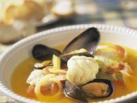 Fischsuppe auf Marseiller Art mit Aioli Rezept