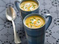 Fischsuppe mit geräuchertem Heilbutt Rezept