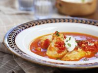 Fischsuppe mit Knoblauchpaste Rezept