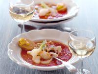 Fischsuppe mit Sauce Rouille