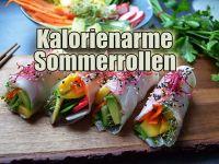 Kalorienarme Sommerrollen