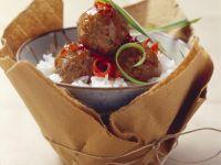 Fleischbällchen in Soja-Marinade Rezept