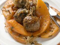 Fleischbällchen mit Kürbis