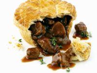 Fleischpastete auf englische Art (Steak Pie) Rezept