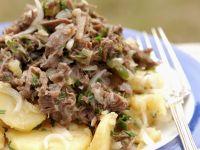 Fleischsalat mit Kartoffeln