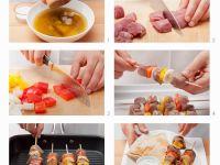 Fleischspieße mit Gemüse Rezept