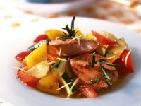 Fleischwurst-Rosmarin-Taler Rezept