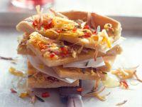 Focaccia mit geraspelten Kartoffeln und roter Chili Rezept