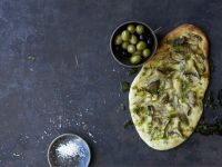 Focaccia mit Kräuterseitlingen Rezept