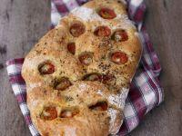 Focaccia mit Tomaten Rezept