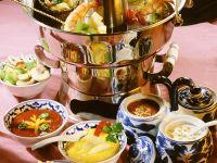 Fondue nach asiatischer Art Rezept