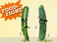 Food Fight: Zucchini vs. Gurke!