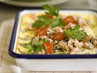 Forellengratin mit Tomaten Rezept