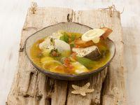 Französische Fischsuppe (Bouillbaise) mit Rouille Rezept