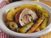 Französischer Eintopf mit Schweinebauch (Pot au feu) Rezept