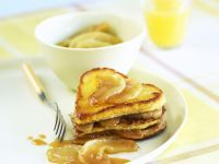 French Toast mit Karamell-Äpfeln Rezept