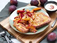 French Toasts mit Hagebutten-Quark-Dip Rezept