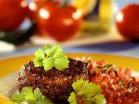 Frikadelle mit Salsa Rezept