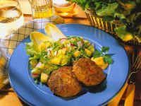 Frikadellen mit Kartoffel-Endiviensalat Rezept