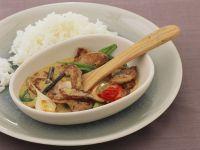 Frikassee mit Curry-Vanille-Sauce Rezept