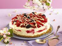 Frischkäse-Beeren-Torte Rezept