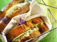 Frischkäse-Gurkensandwich Rezept