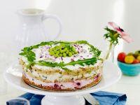 Frischkäsekuchen mit Gemüse Rezept