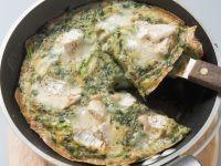 Frittata mit Kräutern und Ziegenkäse Rezept