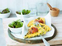 Frittata mit Zucchini und Schinken Rezept