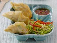 Frittierte chinesische Teigtaschen mit Garnelenfüllung Rezept