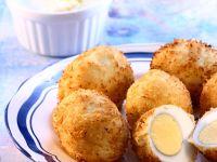 Frittierte Eier Rezept