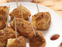 Frittierte Hähnchen-Nuggets mit scharfem Dip Rezept
